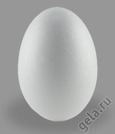 """Форма из пенопласта для хобби  """"Яйцо """", 60 мм."""