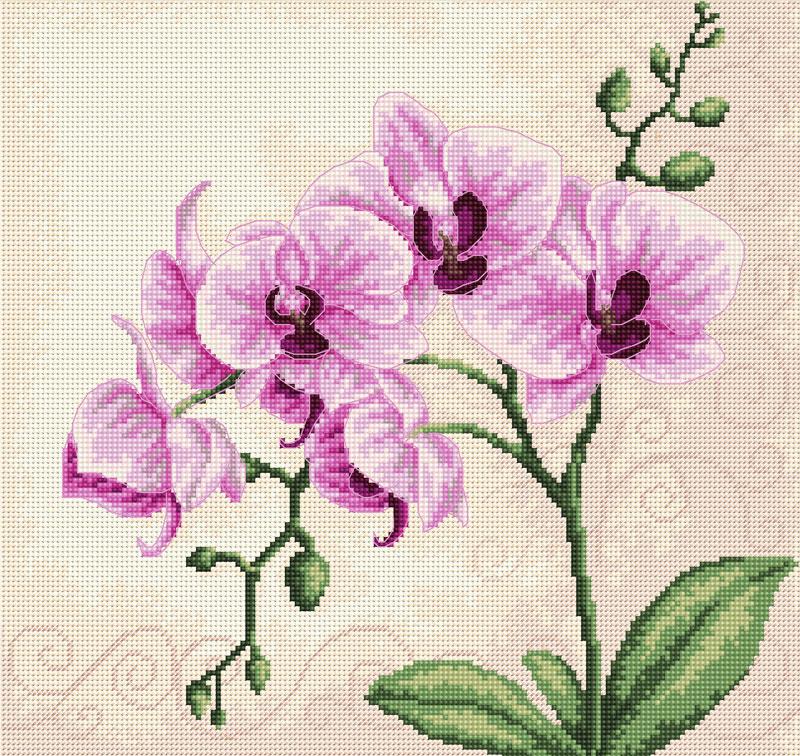 """Набор для вышивания """"Орхидея"""","""
