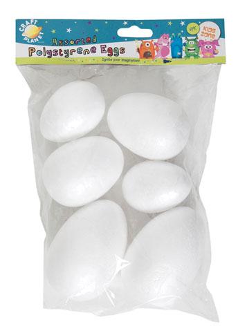 """Увеличить фото товара: Заготовка  """"Пасхальные яйца из пенопласта """"."""