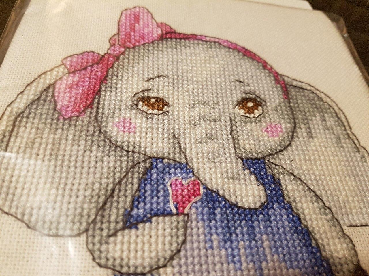 Семь слоников вышивка отзывы 78