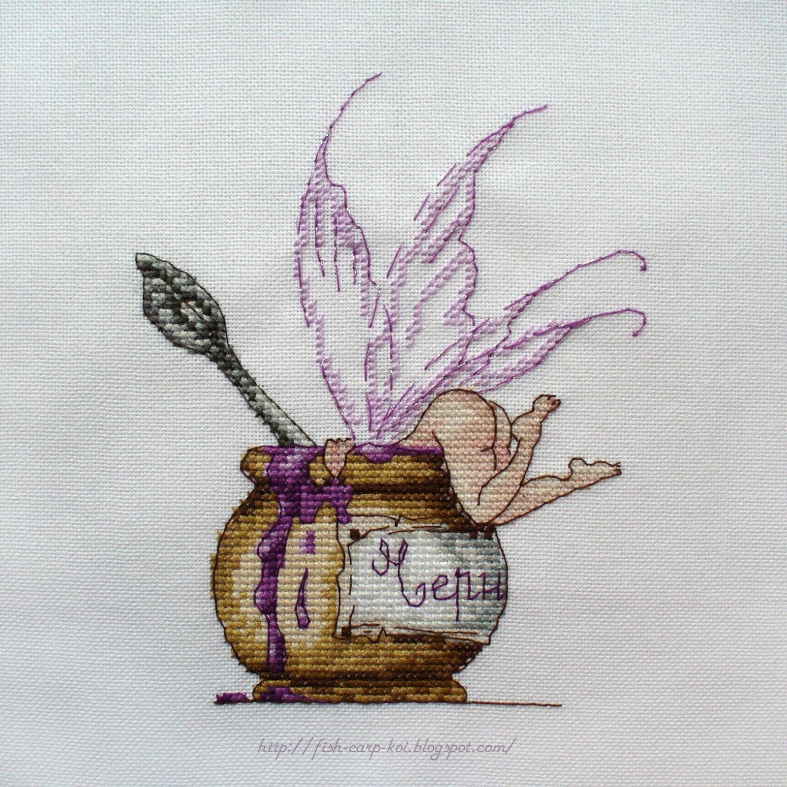 Схема для вышивки макаруны