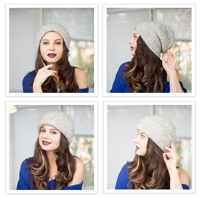 Sasha moon вязание шапка 35